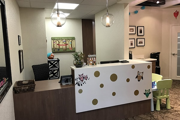 Sona J. Isharani, DDS, Office Tour Client Lounge image 1